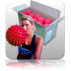 Bulk - Massage Ball - Red - 20pk